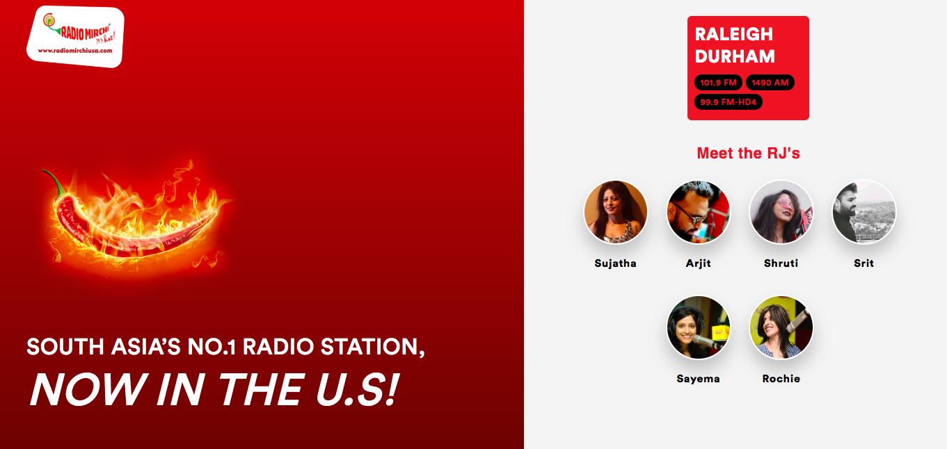 Radio mirchi USA with Steve Rao and Sarah Glova - RIoT