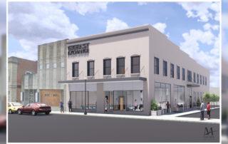 Image of Gig East Exchange building rendering