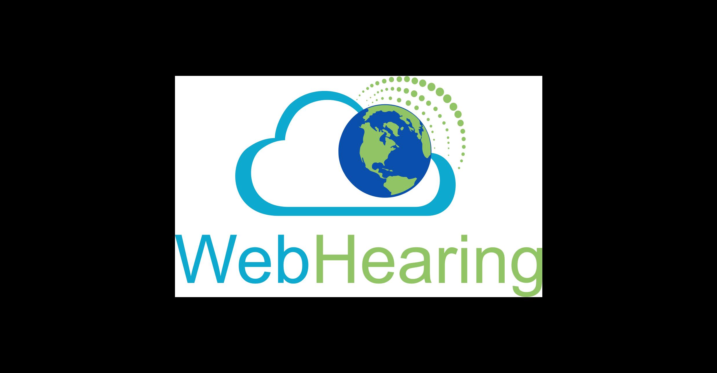 WebHearing Logo