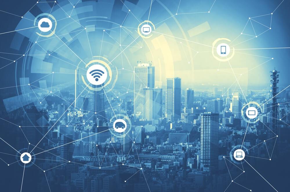 Wifi city Graphic