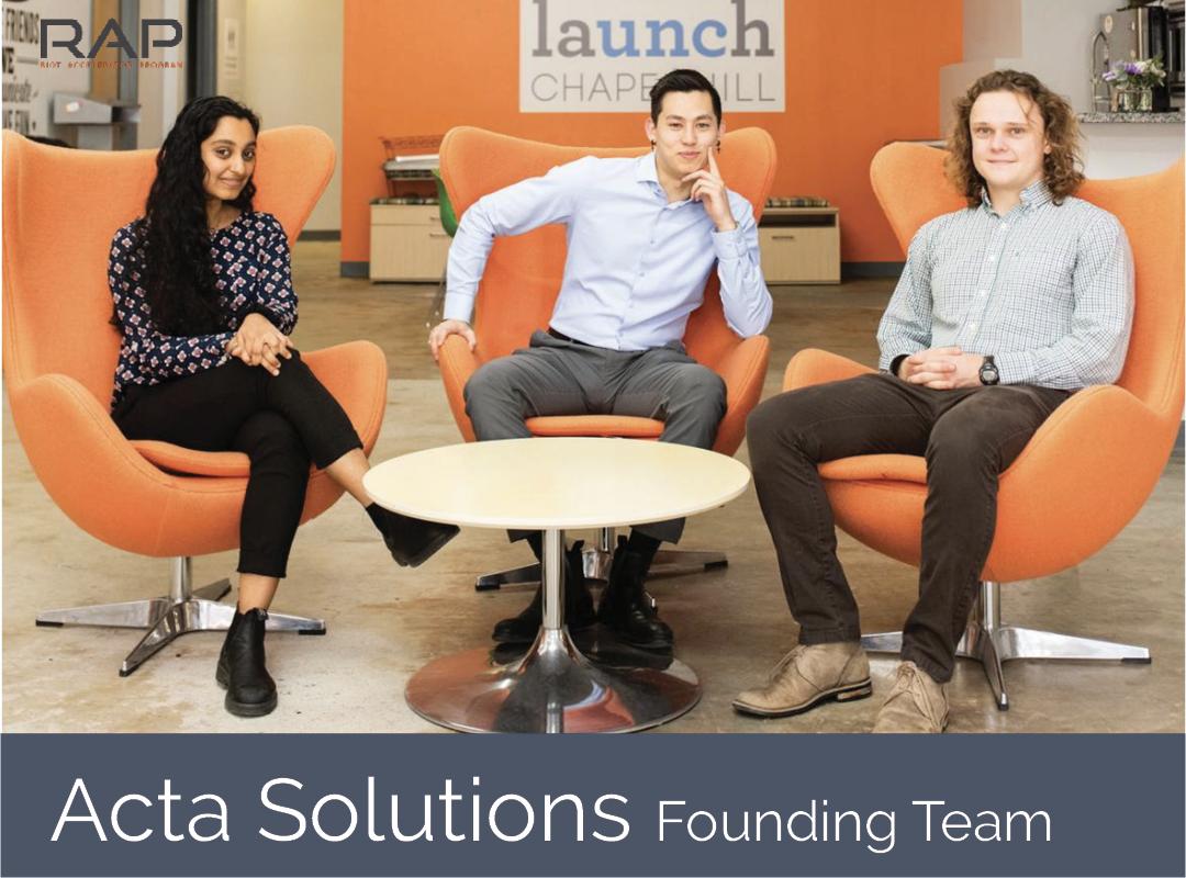 Acta Solution Founding Team