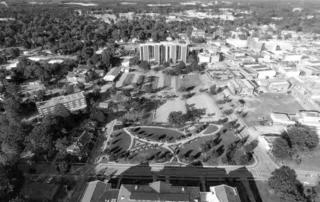 Wilson, NC aerial shot