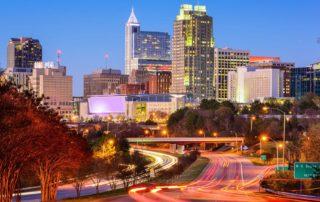 Raleigh cityscape